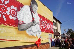 Odsłonięcie muralu